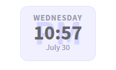 Display USA Standard Day, Date, and Time On Your Website